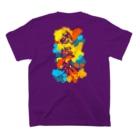 お手紙サポートセンターの中医学用語Tシャツ~痰湿祭~ T-shirtsの裏面