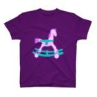 NIKORASU GOのゆめかわいい木馬 T-shirts