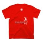 ひとひら物販のひとひらTシャツ2019(背面) T-shirtsの裏面