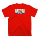 ふるさとグッズ販売にしふるかわ屋の西古川ビアガーデン T-shirtsの裏面