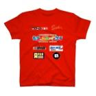 もろっこレーシングのレーシングスーツレプリカ風 T-shirts