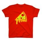 muttsulini1202のピザカリ長府店ロゴ T-shirts