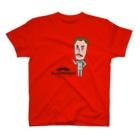 Mr.shopのミスターフィギュアcolor T-shirts