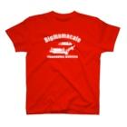 BigmamacafeのBigmamacafe YOKOHAMA BURGER B ホワイト T-shirts