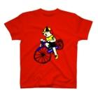 とんちピクルスのウクちゃんと自転車 T-shirts