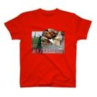 京都大学クジャク同好会の燃えよゴッドバード T-shirts