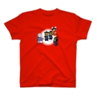 岡ちゃん@奇Tクリエイター師範代の僵尸・跳(キョンシー・ジャンプ) T-shirts