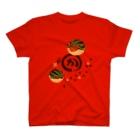 花日和 畳のすいかえる 丸か T-shirts