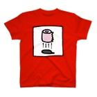 サルインの空飛ぶトイレットペーパー T-Shirt