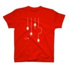 YASUKOのplug in ! (No.1)(濃色生地用) T-shirts