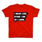 エリータスバスケットボールのI NEVER LOSE T-shirts