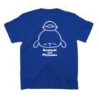 chibinocoのうさきちとぴよすけ その1(ホワイト) T-shirts