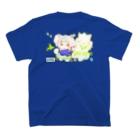 セタわんこ(第2期わんこ期)の人姿に変身だわん♪ T-shirtsの裏面
