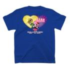 歌うバルーンパフォーマMIHARU✨〜あいことばは『笑顔の魔法』〜😍🎈の10周年記念Tシャツ💙ぶるー💙 T-shirtsの裏面