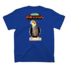 ほほらら工房 SUZURI支店の【オカメインコ】怪鳥らららん T-shirtsの裏面