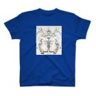 あたまうにうに家の猫おばけ T-shirts