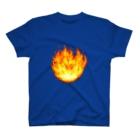 夏のどんぶり(ドンブリ) ブラザーズ【ドンブラ】の炎 T-shirts