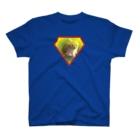 ちばっちょ【ち畳工房&猫ねこパラダイス】のサバトラ子猫スーパーシマちゃん T-shirts