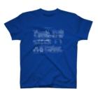 古書 天牛書店の機関車の図面<アンティーク・イラスト> T-shirts