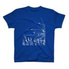 Natural silhouetteの小鳥たちのシルエット T-shirts