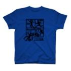 2BRO. 公式グッズストアの黒「フラグ注意」濃色Tシャツ T-shirts