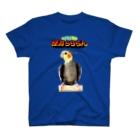 ほほらら工房 SUZURI支店の【オカメインコ】怪鳥らららん T-shirts