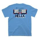 nillpoのHelix Royal Navy Tシャツ