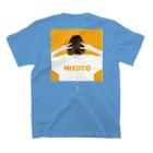 IMALABのNIYOCO×IMALAB(B02-BLUE) T-shirtsの裏面
