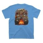 トロ箱戦隊本部の乗り物変身!(SL) T-Shirtの裏面