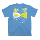 金星灯百貨店の宇宙潜水艇 Lagopus muta T-shirtsの裏面