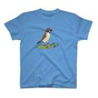 ヤマノナガメのスズメとエンドウ豆 T-shirts