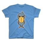 kone-comet_SHOPのハシビロコウガミテルダケ T-shirts