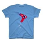 NIKORASU GOのレッドドライヤー T-shirts
