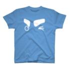 茶番亭かわし屋の「ウィンク♪」 #シャチくん T-shirts
