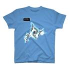 256graphの都道府県ワールドマップ T-shirts