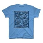PB.DesignsのPassing Tree 透過・黒線 T-shirts