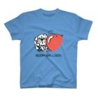 サゲスミン王子描きLOKIの3分以内に電話を切らないと破裂する風船に迫られながら電話するサゲスミン王子 T-shirts