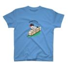 文鳥堂の文鳥鉄道・桜文鳥 T-Shirt