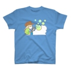 menruiのシャボン 前面のみ T-shirts