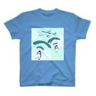 N谷すたじおのペンギンスカイダイバーズ T-shirts