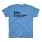 竹下キノの店のハリウッドアクションスター「四天王」ヴァン・ダムver. T-shirts