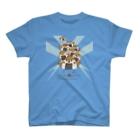 """""""すずめのおみせ"""" SUZURI店のすゞめむすび(整列color) T-shirts"""