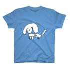 非効率重視のホワイトドーッグス【Tシャツ】 T-shirts