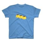 ぷにおもちSHOPの三つ子プリン T-shirts