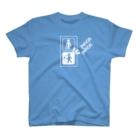 KENICHIROUのパカパカ(白インク) T-shirts