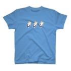 けちゃっぷごはんのお店の隙間で落ち着く猫(下駄)リアル T-shirts