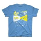 金星灯百貨店の宇宙潜水艇 Lagopus muta T-shirts