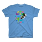 HIGEQLOのGO CLIMB PANDA T-shirts