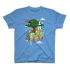 nuwtonのヌートンドット絵(カラー) T-shirts