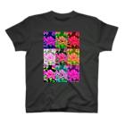ボールペン画のイラストレーター・白石拓也の薔薇オリジナル T-shirts